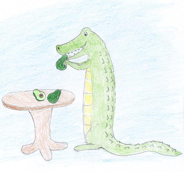 Alligator pear
