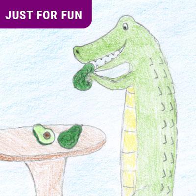 Alligator pear Feature