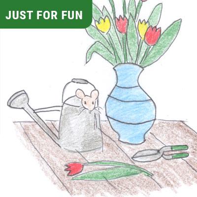 Flower Vase Puzzle